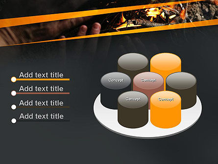 Bonfire Warmth PowerPoint Template Slide 12