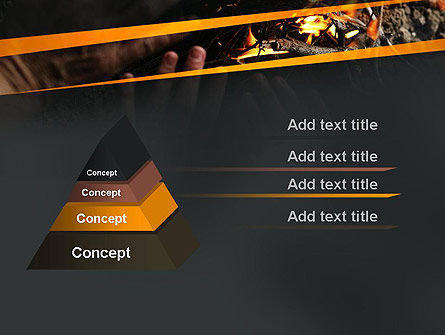 Bonfire Warmth PowerPoint Template Slide 4