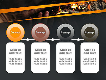 Bonfire Warmth PowerPoint Template Slide 5