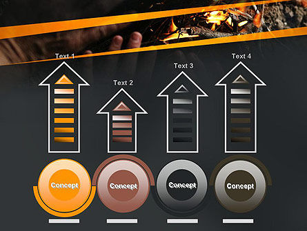 Bonfire Warmth PowerPoint Template Slide 7
