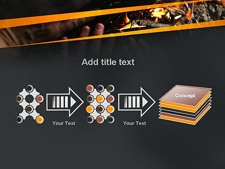 Bonfire Warmth PowerPoint Template Slide 9