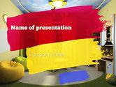 Careers/Industry: Child Room Design PowerPoint Template #11285