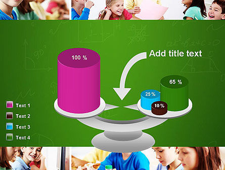 School Lessons PowerPoint Template Slide 10