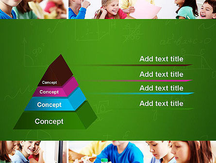 School Lessons PowerPoint Template Slide 12