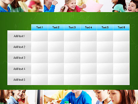 School Lessons PowerPoint Template Slide 15