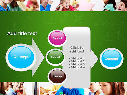 School Lessons PowerPoint Template Slide 17