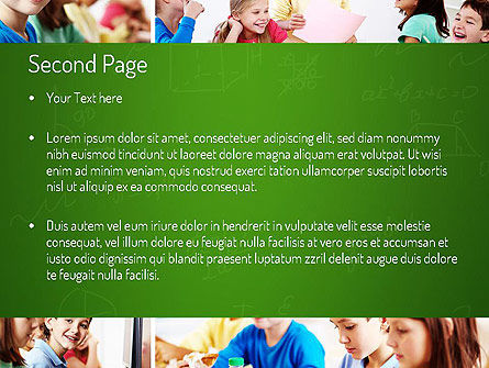 School Lessons PowerPoint Template, Slide 2, 11286, Education & Training — PoweredTemplate.com