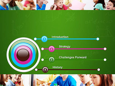 School Lessons PowerPoint Template, Slide 3, 11286, Education & Training — PoweredTemplate.com