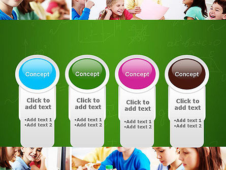 School Lessons PowerPoint Template Slide 5