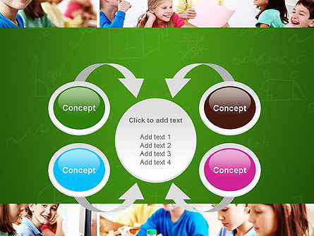 School Lessons PowerPoint Template Slide 6