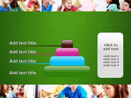 School Lessons PowerPoint Template Slide 8