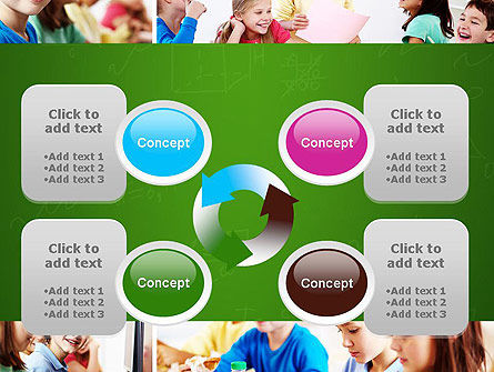School Lessons PowerPoint Template Slide 9