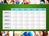 School Lessons PowerPoint Template#15