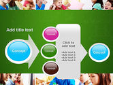 School Lessons PowerPoint Template#17