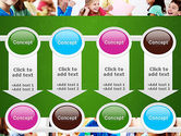 School Lessons PowerPoint Template#18
