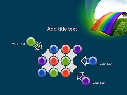 Rainbow Bridge PowerPoint Template Slide 10