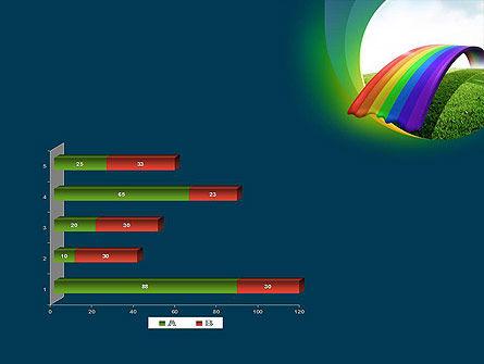 Rainbow Bridge PowerPoint Template Slide 11