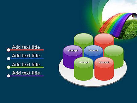 Rainbow Bridge PowerPoint Template Slide 12