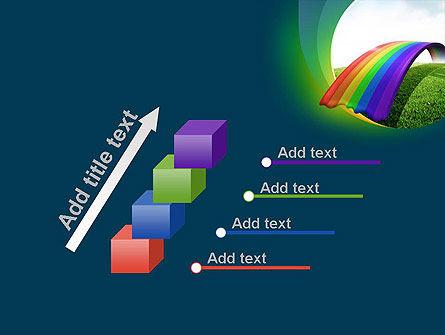 Rainbow Bridge PowerPoint Template Slide 14
