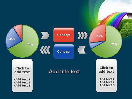 Rainbow Bridge PowerPoint Template Slide 16
