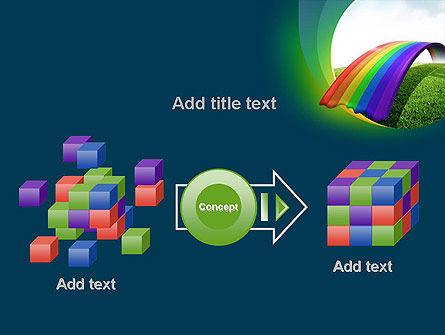Rainbow Bridge PowerPoint Template Slide 17