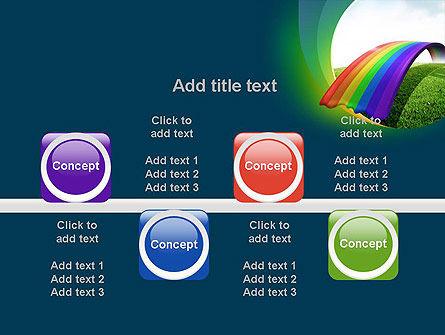 Rainbow Bridge PowerPoint Template Slide 18