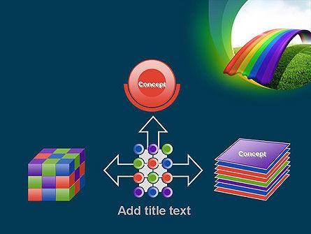 Rainbow Bridge PowerPoint Template Slide 19