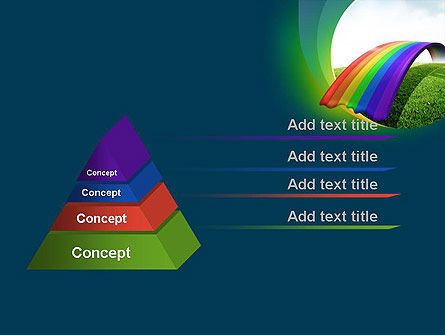 Rainbow Bridge PowerPoint Template, Slide 4, 11287, Education & Training — PoweredTemplate.com