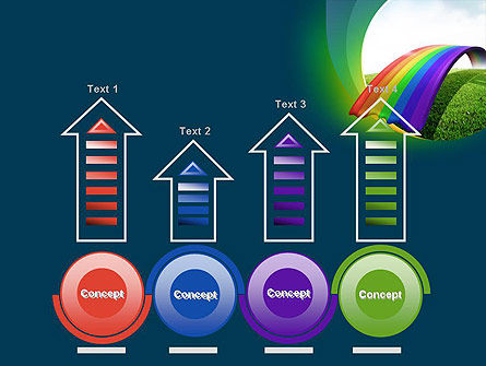 Rainbow Bridge PowerPoint Template Slide 7