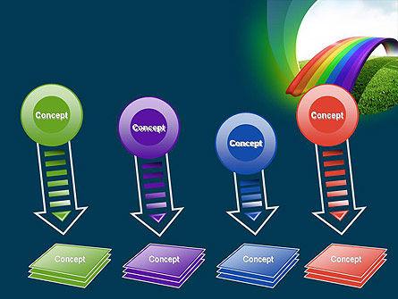 Rainbow Bridge PowerPoint Template Slide 8