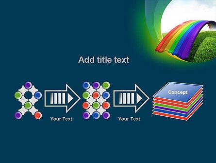 Rainbow Bridge PowerPoint Template Slide 9
