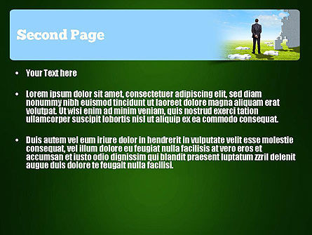 Project Manager PowerPoint Template, Slide 2, 11290, Careers/Industry — PoweredTemplate.com
