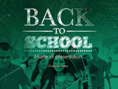 Education & Training: Welcome Back To School PowerPoint Template #11293