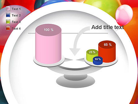 Colorful Balloons PowerPoint Template Slide 10