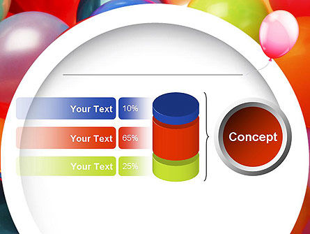 Colorful Balloons PowerPoint Template Slide 11