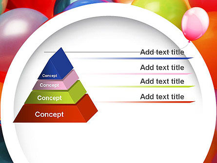 Colorful Balloons PowerPoint Template Slide 12