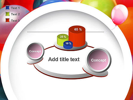 Colorful Balloons PowerPoint Template Slide 16