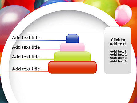 Colorful Balloons PowerPoint Template Slide 8