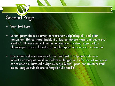 Corn On The Cob PowerPoint Template Slide 2