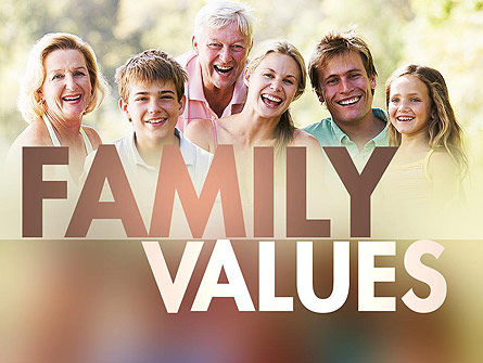 People: Happy Family PowerPoint Template #11297