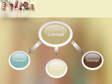 Happy Family PowerPoint Template Slide 4