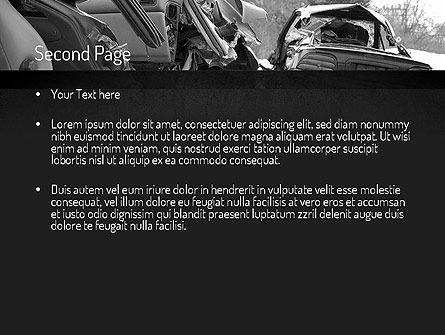 Auto Accident PowerPoint Template Slide 2