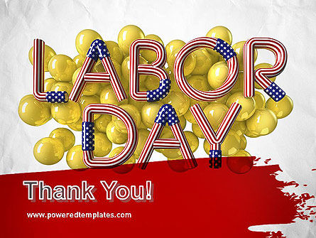 3D Labor Day PowerPoint Template Slide 20