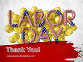 3D Labor Day PowerPoint Template#20