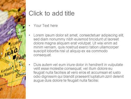 Middle East PowerPoint Template, Slide 3, 11303, Flags/International — PoweredTemplate.com
