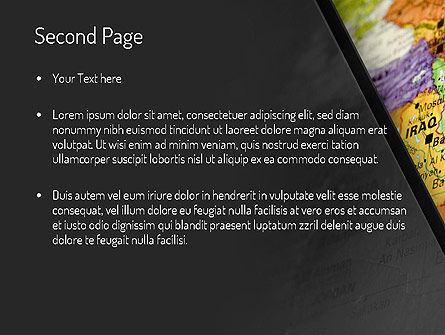 Middle East PowerPoint Template, Slide 2, 11303, Flags/International — PoweredTemplate.com