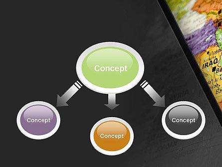 Middle East PowerPoint Template, Slide 4, 11303, Flags/International — PoweredTemplate.com