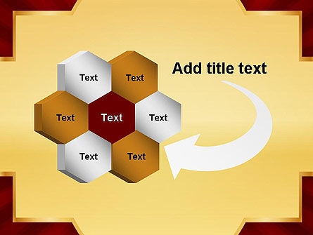Golden Substrate PowerPoint Template Slide 11