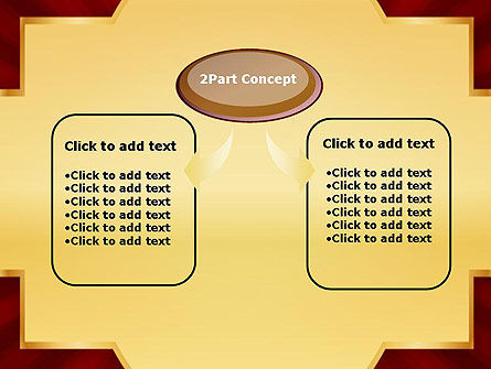Golden Substrate PowerPoint Template Slide 4