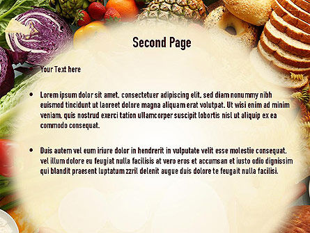 Abundance Of Food PowerPoint Template Slide 2